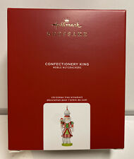 2020 Hallmark Keepsake Confectionery King Noble Nutcrackers Ornament