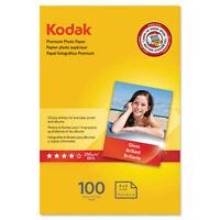 Kodak Premium Photo Paper 8.5 mil Glossy 4 x 6 100 Sheets/Pack 1034388