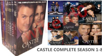 Castle:The Complete Series Season 1-8 (DVD Box Set,45-Disc) US Seller New & Seal