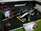 F1 McLAREN MP4-15 HAKKINEN 2000 1/24 HOT WHEELS MATTEL 26698 formule 1 PIT STOP