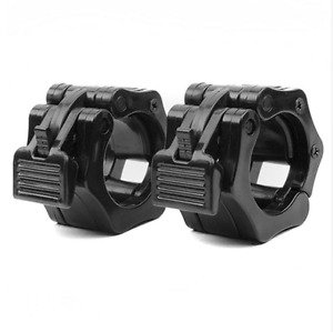 Barbell Collar Clamp Plastic Weightlifting Quick Release Grip Lock Olympic Bar