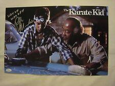 Ralph Macchio Signed WAX ON WAX OFF 11x14 Karate Kid Photo - JSA COA - RARE!!