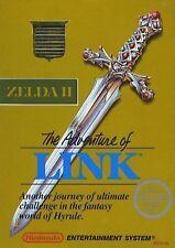 Zelda II: The Adventure of Link -- NES NINTENDO GOLD CLASSIC ORIGINAL GAME