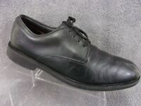 Timberland Stormbuck black leather plain toe lace up oxford mens size US11.5M