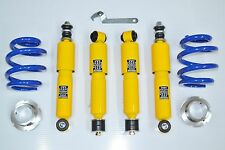 NEW COILOVER SUSPENSION KIT 2 SPRINGS 4 SHOCK ABSORBERS VW T4 TRANSPORTER TDI