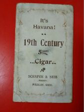 CIGARS 19TH CENTURY CARD WITH GIRLS KICKING LEGS TONS MORE AT GOLDENHILL3898