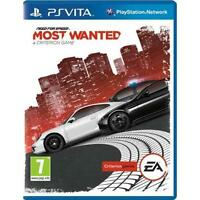 Need For Speed Most Wanted PS Vita Driving/Racing Game Sony BRAND NEW SEALED UK