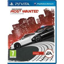 NEED FOR SPEED MOST WANTED jeu pour SONY PS VITA CONDUITE / Jeu de course Neuf
