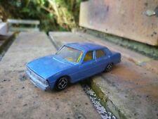 NOREV mini JET CAR PEUGEOT 604 bleu BON ETAT D'USAGE sans boite, voir photos