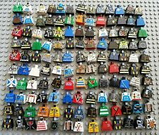 LEGO Minifigure Torso only Huge Lot 140 City Town space adventures Star Wars
