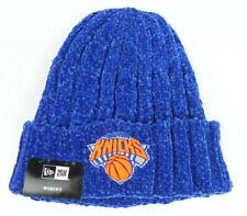 NEW YORK KNICKS WOMEN'S NBA NEW ERA ROYAL BLUE KNIT CUFFED BEANIE CAP HAT NWT!