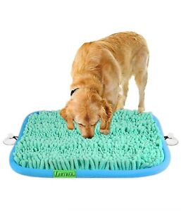 """17"""" x 21"""" Dog Puzzle Toys, Snuffle Mat Encourages Natural Foraging Skills"""