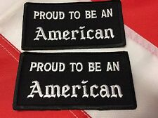 PATCH Proud To Be American survival GIFT patriot tactical morale #917 uget 2
