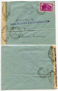 CAMEROON BRITISH MANDATE CENSOR COMMISSION B 1942 YAOUNDE ELEPHANT 2F50