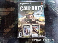 Call of Duty: Legacy (Sony PlayStation 2) Finest Hour & Big Red One COMPLETE