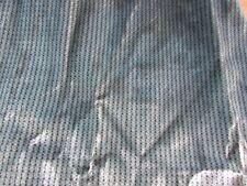 "22"" x 1yard grey stripes upholstrey  heavy fabric"