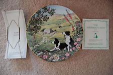 Peter Barrett All Creatures Great & Small June The Shepherd's Path Plate 1987