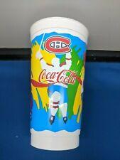 NHL MONTREAL CANADIENS COCA-COLA PLASTIC CUP MINT CONDITION 32oz
