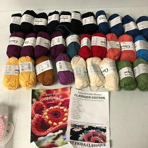 Stylecraft Frida's Flowers Crochet Along blanket kit yarn pack