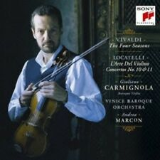Vivaldi: The Four Seasons. Etc. - Giuliano Carmignola (2012, CD NIEUW)