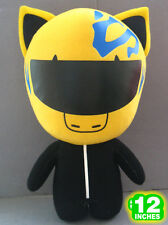 BIG 30CM 12'' Durarara Plush Stuffed Doll Yellow Black DUPL9001