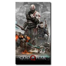 God Of War 24x42inch Game Silk Poster Cool Gifts Art Print Large Size