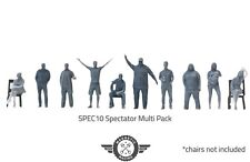 More details for 1/32 scale model figures, perfect for slot car and scalextric tracks 10 pack