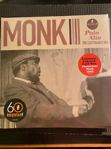 Thelonious MONK Palo Alto the custodians mix VINYL LP new & sealed FREE POST IN