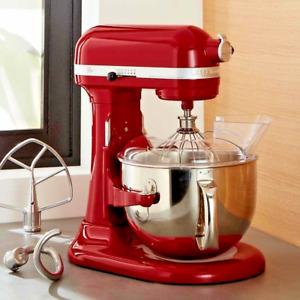KitchenAid RKP26M1XER 6 Quart Pro 600 Bowl-Lift Stand Mixer - Empire Red 575WATT