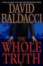 The Whole Truth by David Baldacci NEW (2008, Hardcover, 1st Edition) Shaw Series