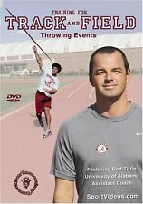 Training for Track and Field: Throwing Events DVD - Free Shipping