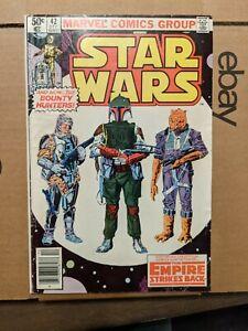 Star Wars #42 1st Boba Fett Newsstand