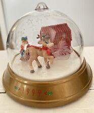 """Collectible 1999 Blockbuster """"Annabelle's Wish� Whirl-Around Snow-globe"""