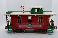 New Bright Logger Bears Express G Scale Christmas Caboose Train Replacement 1986