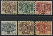 Bermuda KGV 1921 Tercentenary various values to 4d mint o.g. hinged