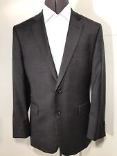 CHESTER by Chester Bartlett Men's Single Breasted Grey Wool Suit Size: 44R