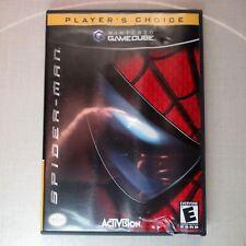 Spiderman Nintendo Gamecube With Manuals