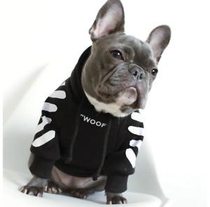 Warm Sport Retro Dog Pugs Puppy Clothes Bulldog Clothes Dog Hoodie Pet Clothes