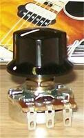 EVH® Wolfgang Black Control Knob~Fits Bourns EVH Solid Shaft Pots~Brand New