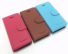 For Apple iPhone 5/5s/SE Leather Wallet Flip Case Cover Men & Women Card Holder