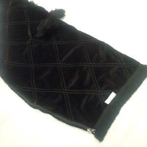 Black velvet Black Details Bagpipe Cover