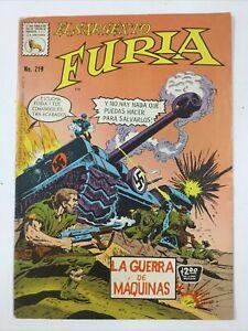 1974 SPANISH COMIC EL SARGENTO FURIA #219 SGT NICK FURY WAR LA PRENSA MEXICO