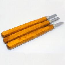3pcs/set Multifunction Chisel Handmade Woodcut Knife Leather Craft Tools