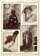 Neue Moden * Modephotographie * Historische Aufnahmen von 1921