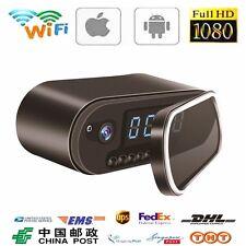 HD 1080P SPY Wireless Wi-Fi Hidden Camera IR Cam Motion Security Alarm Clock New