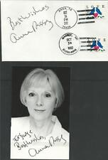 AUTOGRAPH, 1992, ANNA MASSEY,TV FILMS SIGNED AMERICAN COVER