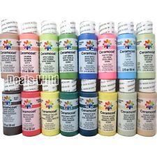 Ceramcoat Acrylic Paint Delta Creative - Many Colors, Build a Set (1) 2oz Bottle