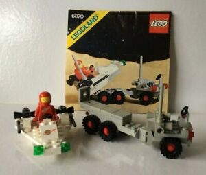 """VINTAGE LEGO #6870~ """"SPACE PROBE LAUNCHER"""" ~ SPACE: CLASSIC SPACE ~ 1981 ~ 100%"""