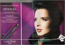 ▬► PUBLICITE ADVERTISING AD Lancôme Pub maquillage 2 pages 1992