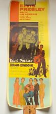 ELVIS PRESLEY - 100% ORIGINAL VERY RARE AND DESIRABLE KING CREOLE INSERT
